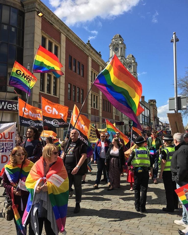 Swansea Pride on Wind ST