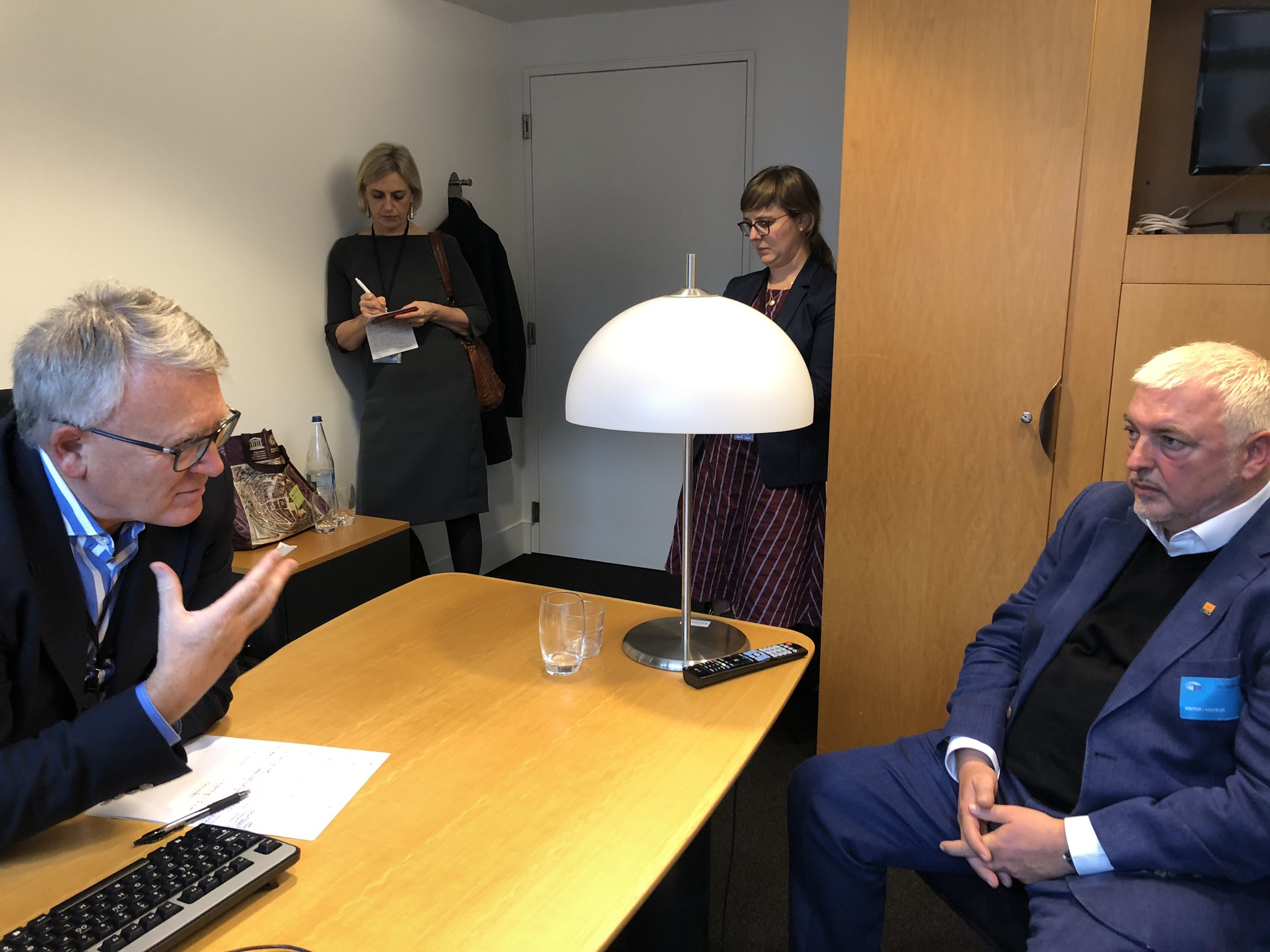 GMB meet with the EU Commissioner