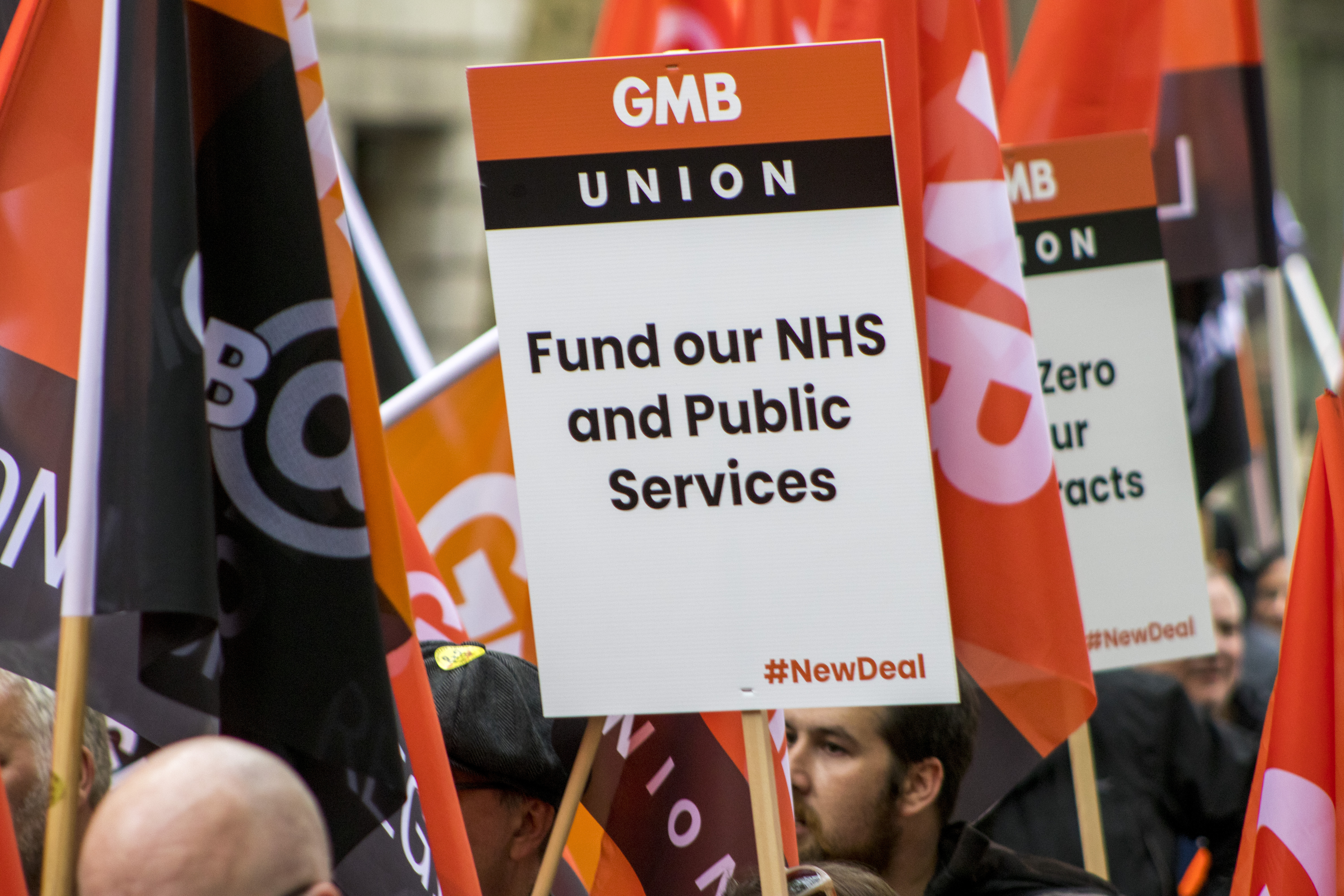 Fund our NHS and public services