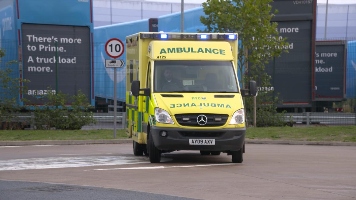 100s of Amazon ambulance callouts